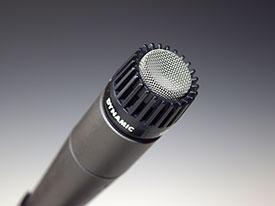 Un microfono dinamico è consigliabile nelle registrazioni fai da te.