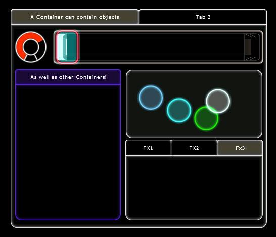 L'interfaccia di Lemur è completamente customizzabile, cn comandi virtuali personalizzabili secondo le vostre preferenze.