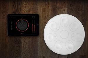 Oval si comporta come un evoluto controller Midi dotato di una propria libreria sonora e di cuffie. Potrete portarlo con voi in vacanza o in sala d'incisione.