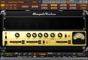 AmpliTube non è uno, ma un repertorio di amplificatori virtuali per chitarra elettrica.