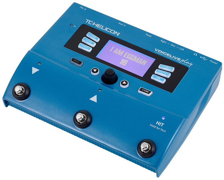 TC Helicon VoiceLive Play è un moderno multieffetto a pedale dedicato ai cantanti: permette di accedere a numerosi preset con reverberi, chorus, flanger e molto di più.