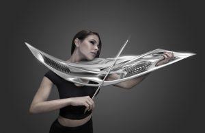 Monad Studio presentato i prototipi di alcuni strumenti musicali realizzati con tecnica di stampa 3D.