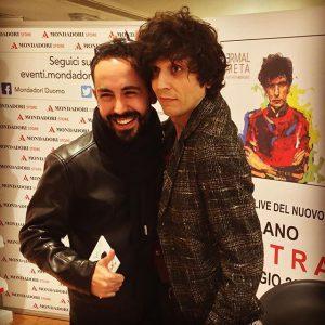 Carlo Bolacchi con Ermal Meta