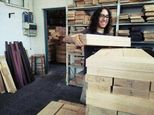 Nicola seleziona solo legni di qualità